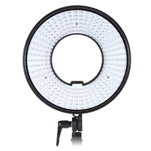 Photography Ring Light Lamp Panel 300 LEDs CRI 95+ 5500K Color Temperature for Camcorder