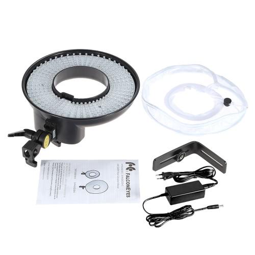 ビデオ撮影スタジオ リング灯パネル 300 Led CRI 95 + 5500 K 色温度デジタル一眼レフ カメラ ビデオカメラ用