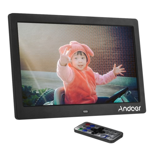 "Andoer 10 ""HD Wide Screen LCD Photo Picture Frame"