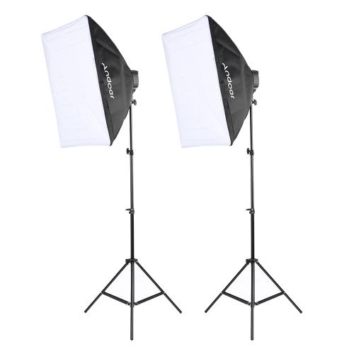 Zestaw oświetlenia zdjęć Andoer Studio
