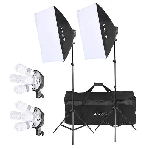 Kit de iluminación fotográfica Andoer Studio