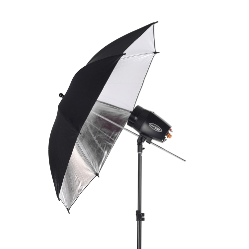 Godox M180-A Mini 3 * 180ws Studio Photo Flash Strobe Lighting Kit mit (3) Flash / (3) Licht-Standplatz / (2) weicher Regenschirm / (1) Relector Umbrella / (1) RT-16-Flash-Trigger / (1) Tragetasche