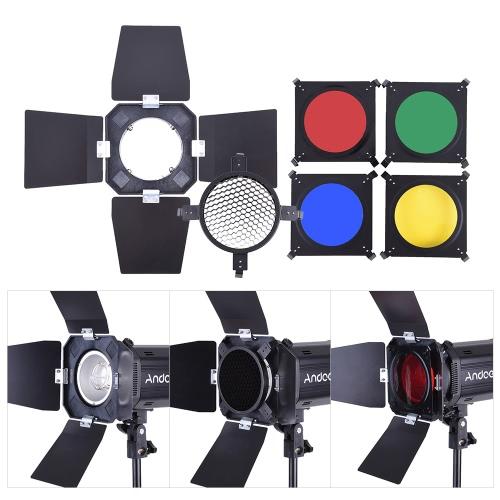 Andoer MD-300 900W (300W * 3) Studio Strobe Flash Light Kit