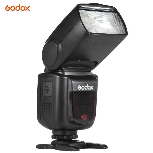 Godox V850II GN60 2.4G Off Camera 1/8000s HSS Camera Flash Speedlight Speedlite Built-in 2.4G Wireless X System with 2000mAh Li-ion Battery for Canon Nikon Pentax Olympas DSLR Cameras