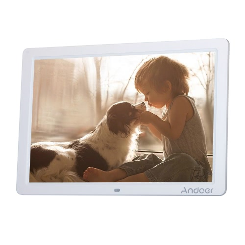 Andoer 15-Zoll Breitbild-HD LED Digital Picture Frame
