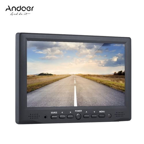 Andoer AD-701 Professional Digital Field Monitor HD LCD Display High Definition Multimedia Interface Input for DSLR Camera