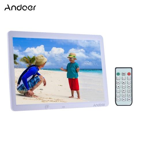 Andoer 15 Inch Duża Ekran LED Cyfrowa ramka na zdjęcia