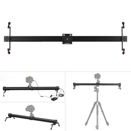 Andoer 1m/3,3 pi commande électrique Time Lapse photographie vidéo DSLR Camera Slider motorisés stabilisateur piste Dolly Rail pour Canon 7D, 7DⅡ, 6D, 50D, 5DⅡ, 5DⅢ, 5D, 5DSR, 80D, 760 D, 750 D, 700D, 70D, 650d, 600D, 60D, 550 D DSLR