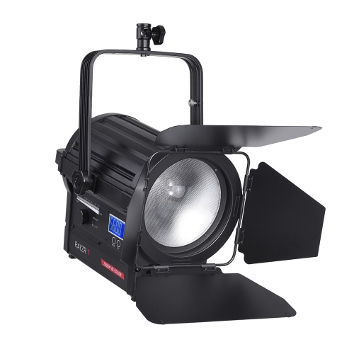 Vibesta Rayzr R7-200BM 200W Photography LED Fresnel Focus Light Spotlight Lamp Daylight Bi-Color 3200-5600K Dimmable for Studio Video
