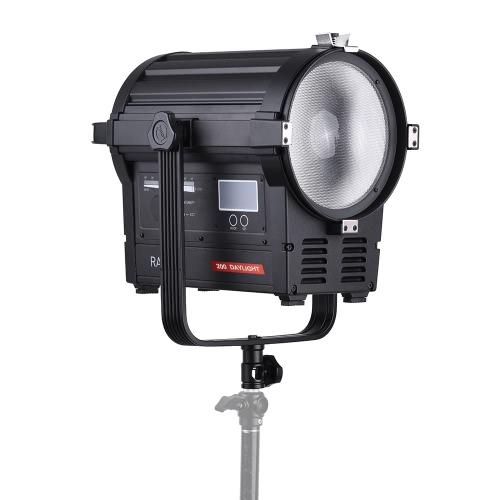 デジタル一眼レフカメラビデオカメラビデオスタジオ写真フィルム製造のためのVibesta Rayzr R7-200 200W LEDフォーカスライトスポットライトデイライトランプ5600K調光対応