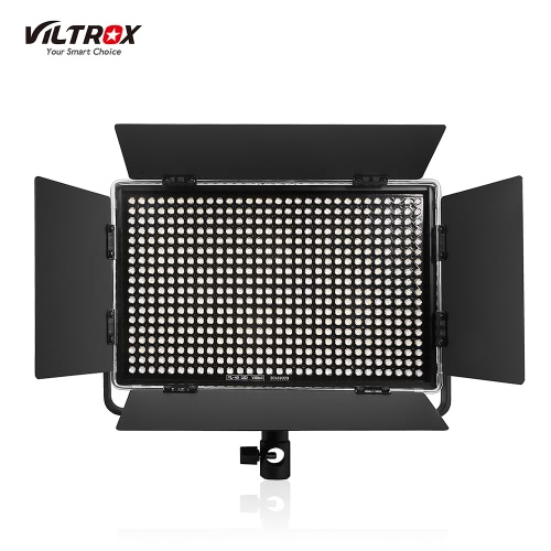 Viltrox VL-40T Professionelle Ultra-dünne LED-Video-Licht-Fotografie LED-Fill-Licht 3300K ~ 5600K Einstellbare Doppel-Farbtemperatur Einstellbare Helligkeit Max 3950 Lumen