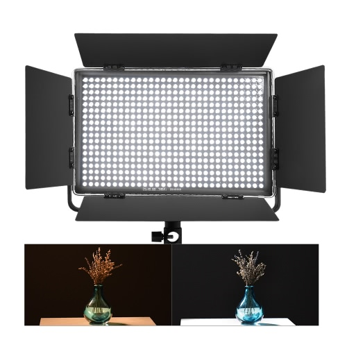 Viltrox VL-40T Professional Ultra-thin LED Video Light Photography LED Fill Light 3300K~5600K Adjustable Double Color Temperature Adjustable Brightness Max 3950 Lumens