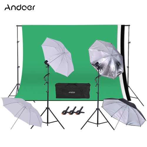 Andoer ensemble complet de kit photographique studio