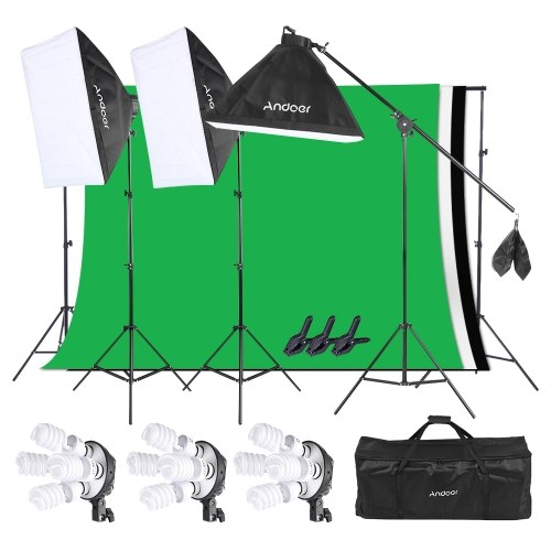 Andoer Photo Studio Lighting Kit