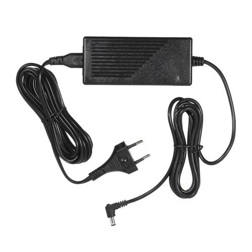 EUプラグと永諾12V 5A AC電源アダプタ永諾YN600LシリーズYN300III YN168 YN216 YN1410 YN300Air YN160III YN360 YN608 YN600RGB YN308 YN600エアLEDビデオライトのための広い電圧100-240V