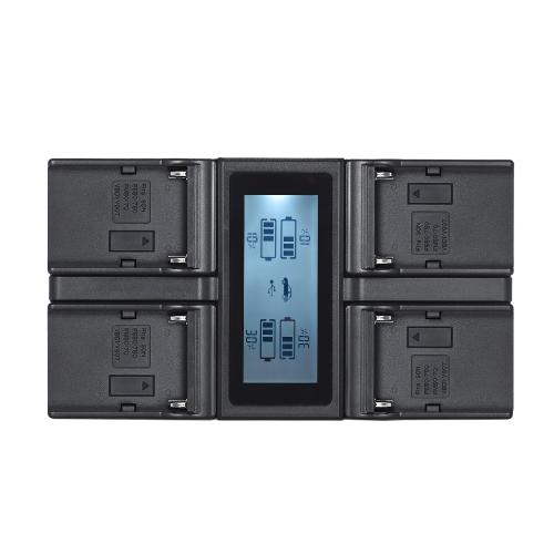 Andoer NP-F970 cargador de batería de