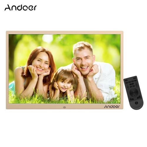 Andoer 17-calowa cyfrowa ramka na zdjęcia LED ze stopu aluminium