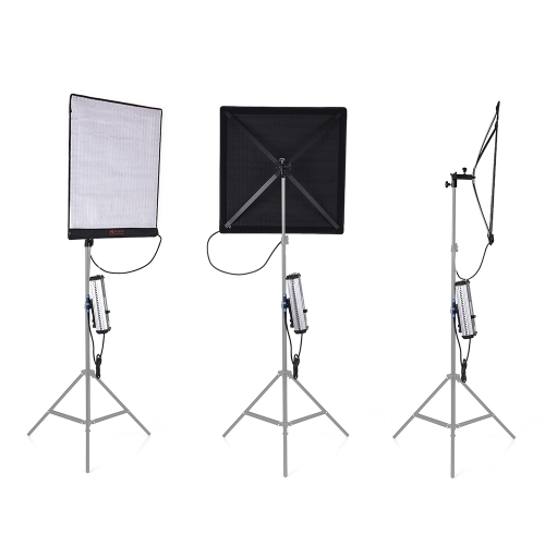 FalconEyes RX-24TDX Square Rollable Cloth LED Fill-in Light Lamp