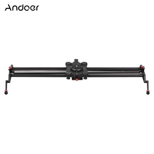 Andoer GP-80QD 80cm/2.6ft Carbon Fiber Motorized Camera Track Slider Dolly