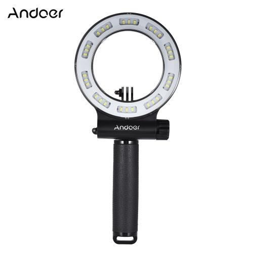 Andoer SL-109 30 LED impermeable 40 m de buceo relleno de luz-UE Plug