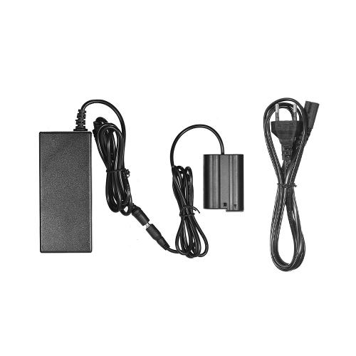 Andoer EH-5 plus EP-5B Alimentatore CA Caricatore per fotocamera accoppiatore CC