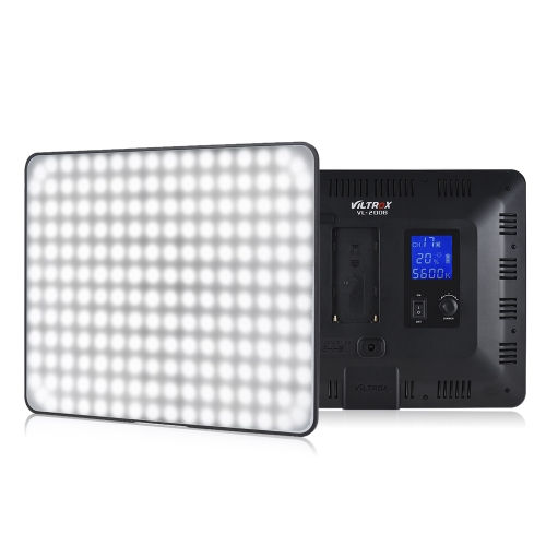 Viltrox VL-200B Professionelles ultradünnes LED-Videoleuchte