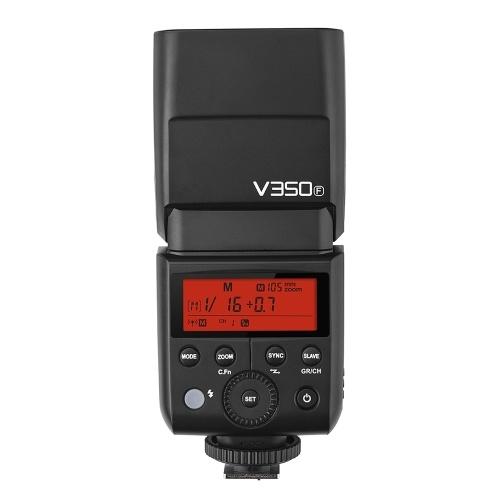 Godox V350F Compact Flash sans fil 2.4G Flash maître / esclave