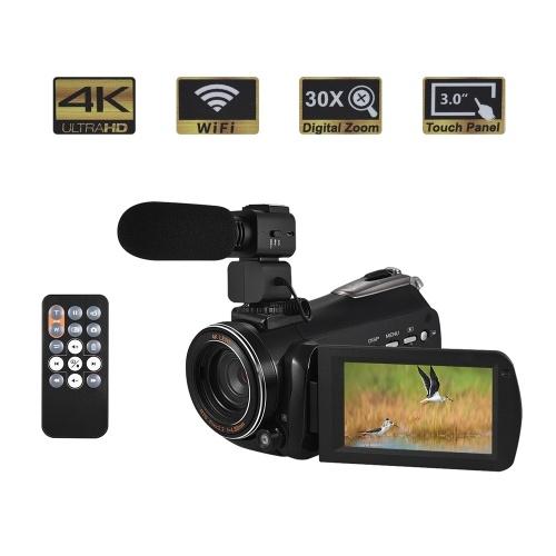 Andoer AC3 4K UHD 24MP Digitaler Videokamera Camcorder DV Recorder