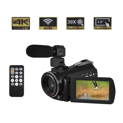 Andoer AC3 4K UHD 24MP kamera cyfrowa kamera wideo DV rejestrator