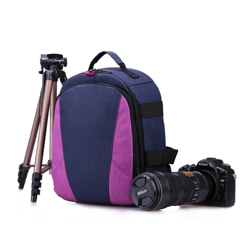 HUWANG Outdoor Fotografia Padded Camera Bag Mochila De Viagem