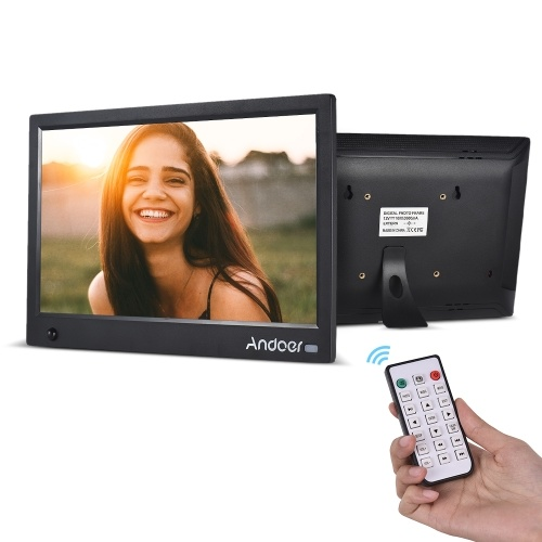 Andoer 11.6 pollici HD IPS Widescreen Digital Picture Frame Album fotografico digitale