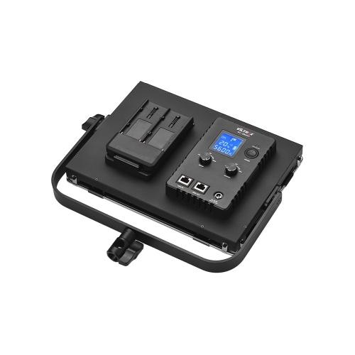 Viltrox VL-D60T Professionnel Slim 3300K-5600K Bi-Color Dimmable LED Vidéo Lumière