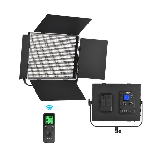 Viltrox VL-D85B Профессиональный тонкий металлический 5600K монофонический светодиодный видео свет