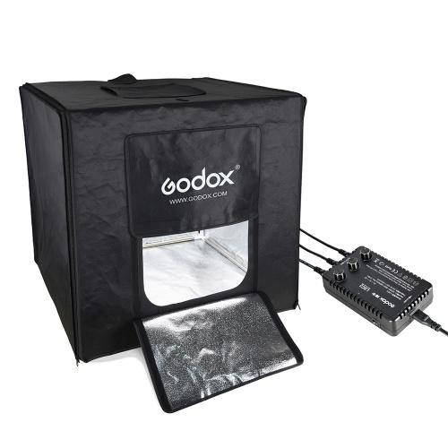 Godox LST80 80 * 80 * 80 cm LED Mini Fotografie Studio Schießen Zelt Softbox mit 3 stücke LED Licht Bord 5800 Karat CRI 96 + Power 60 Watt für Makro und Produkt Fotografie