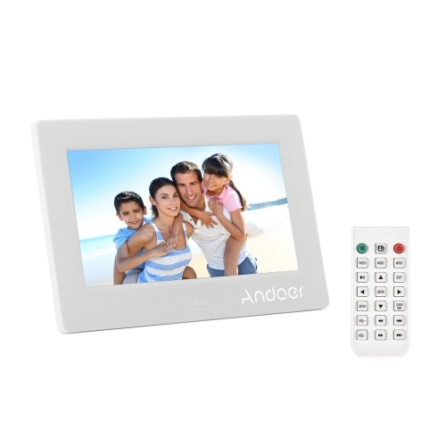 Andoer 7 pollici LED Digital Photo Frame