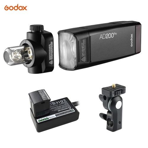 Godox AD200Pro Bolso Flash Sem Fio Portátil TTL Flash