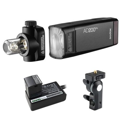 Godox AD200Pro Pocket Flash Tragbarer kabelloser TTL-Blitz