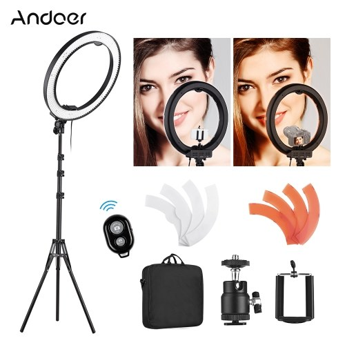 Andoer 18 pulgadas 5500K LED de luz de video
