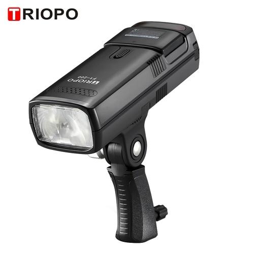TRIOPO F1-200 Portable 2.4G Wireless TTL Flash Outdoor Flash Light