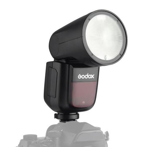 Godox V1P Blitzgerät Speedlite Blitzgerät mit rundem Blitzkopf