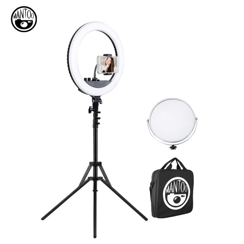MANTOO RL-18 II 18 Inches LED Soft Ring Video Light