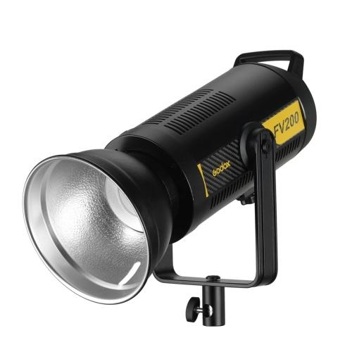 Godox FV200 1 / 8000s Hochgeschwindigkeits-Sync-Blitz-LED-Licht