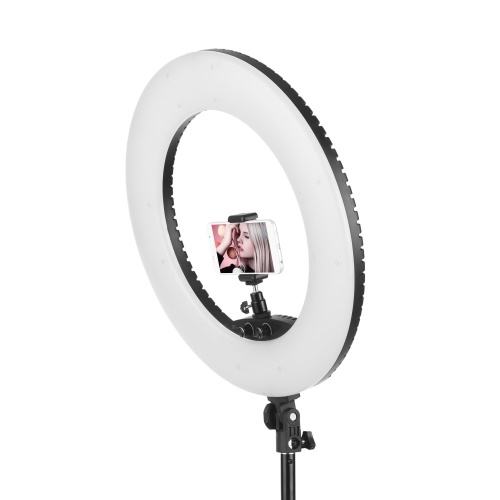 LIPPMANN 18 Inch Dimmable SMD LED Ring Light Kit