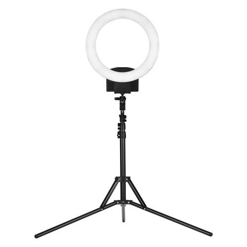 Professionelle 12-Zoll-LED-Ringlicht Ringlight 36W stufenlose dimmbare Kreislampe