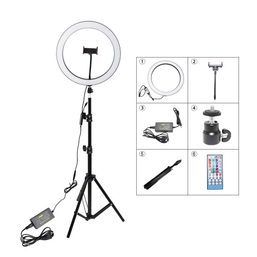 12inch / 30cm RGB Ring Light Photography Lampada Beauty Light