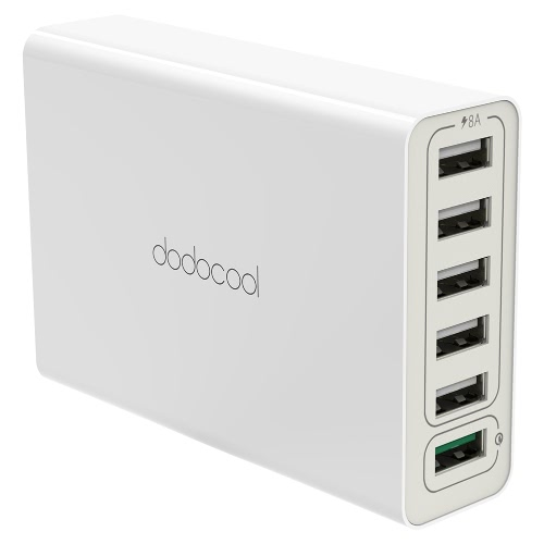 Dodocool 58W 6-Port USB-Desktop-Charging Station Wall Charger Power