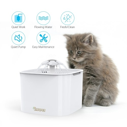 Dadypet Pet Water Fountain Electric Water Bowl