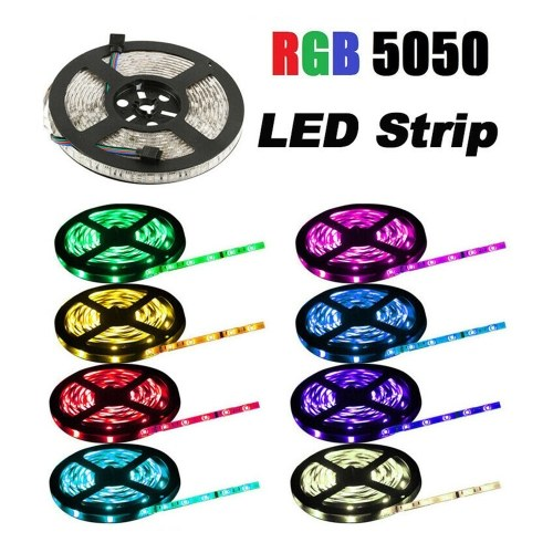 10m / 33ft 5050 LEDs Light RGB Lamp Strip with 44 Key IR Remote Waterproof Lighting Set