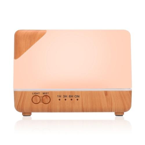 Smart Wifi Wireless LED Night Lamp 700ml Humidifier Essential Oil Aromatherapy Mist Diffuser Tuya/SmartLife Phone App Control