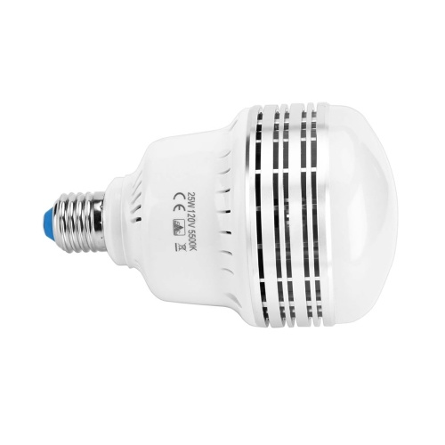 35W 230V LED Light Bulb E26/E27 Photography Daylight Lamp Bulbs 5500K Energy-saving for Photography Studio Home Warehouse Office Hotel